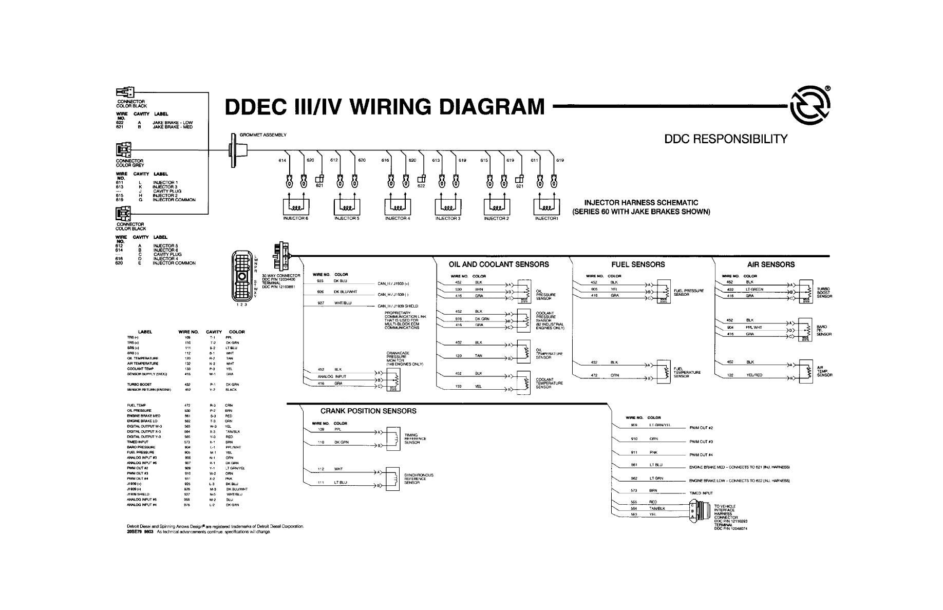 ddec ii wiring diagram fz 4453  wiring diagram in addition detroit diesel series 60 ecm  wiring diagram in addition detroit