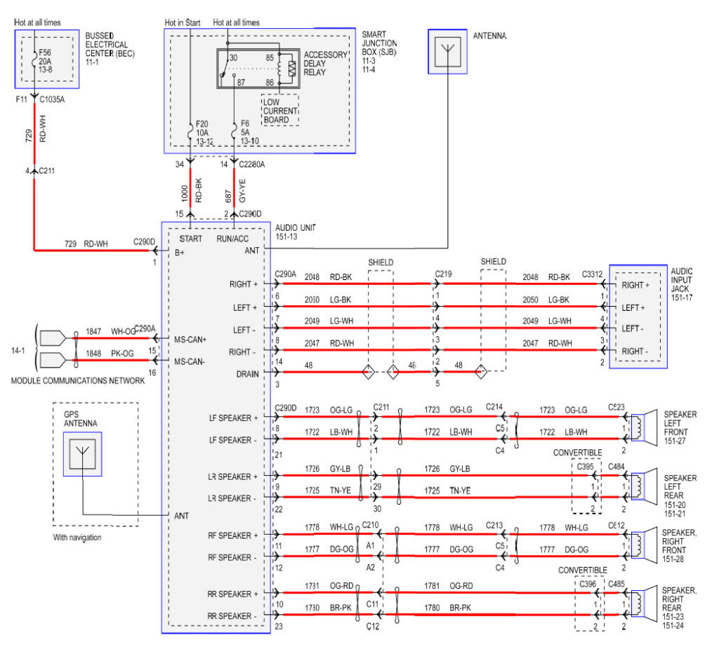 Wiring Diagram For 1998 Ford Mustang - Wiring Diagram