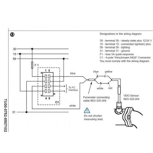 vdo gauge wiring diagram voltage oz 7353  vdo gauges wiring diagrams vdo tachometer wiring diagram  oz 7353  vdo gauges wiring diagrams vdo