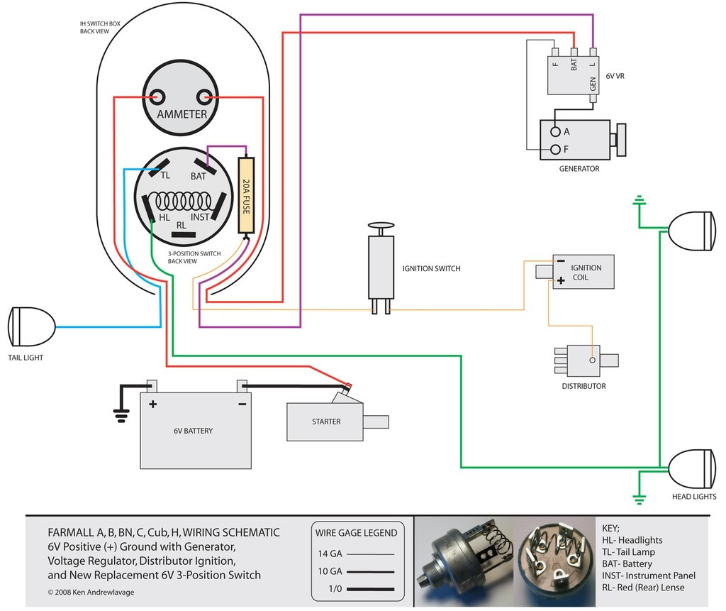 1954 Farmall 6 Volt Positive Ground Wiring Diagram Electrical Wiring Harness Hyundai Azera Bege Wiring Diagram