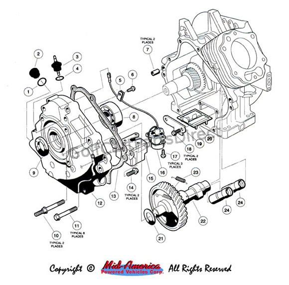gas club car starter wiring diagram lb 6986  golf cart ignition switch on gas club car golf cart  golf cart ignition switch on gas club
