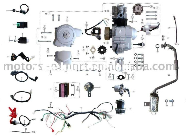Pleasant 110Cc 4 Wheeler Engine Diagram Wiring Diagram Wiring Cloud Domeilariaidewilluminateatxorg