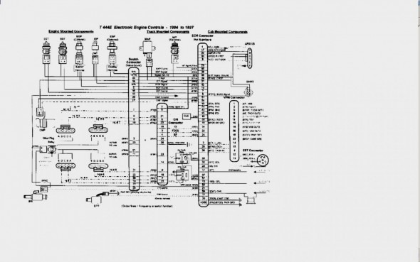 99 International 4700, International Truck Wiring Diagram