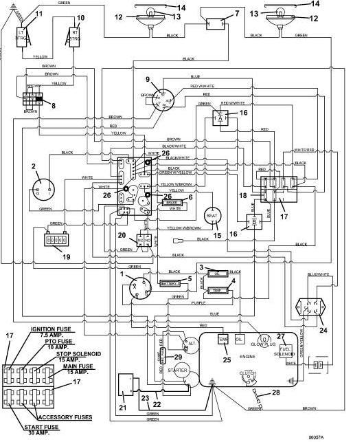 kubota l2900 electrical schematic