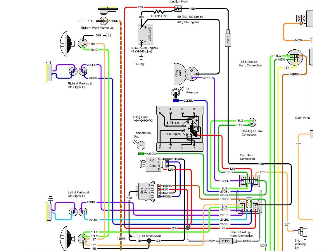 Av 1271 1969 Chevelle Starter Wiring Schematic Wiring