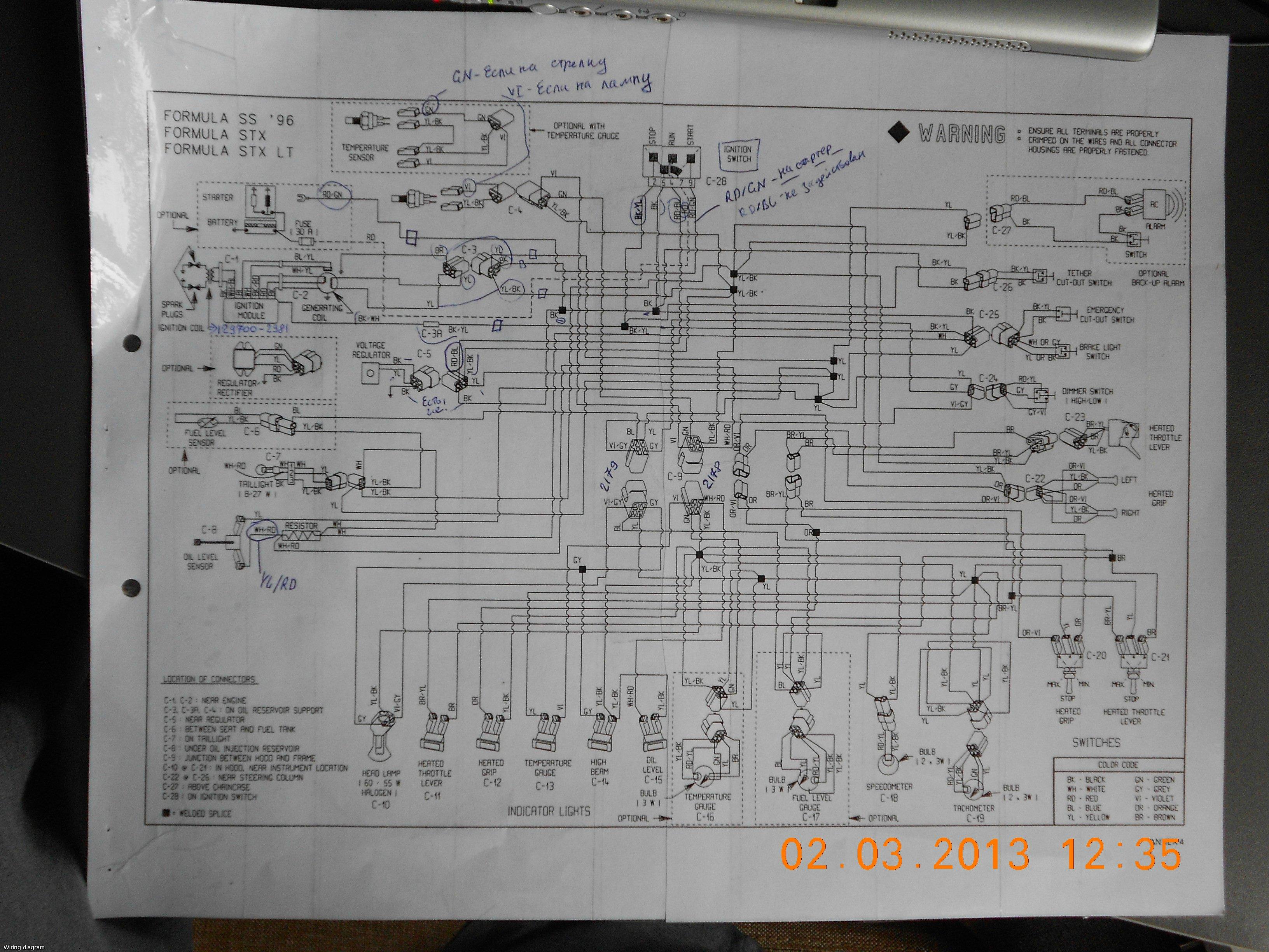 96 sea doo wiring diagram lf 1899  ski doo mxz x wiring diagram  lf 1899  ski doo mxz x wiring diagram