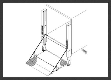Terrific Tdr 44 Thieman Tailgates Hydraulic Lift Gate Manufacturer Wiring Cloud Rineaidewilluminateatxorg