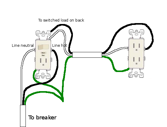 Fine Wiring For A Combo Switch And Outlet Basic Electronics Wiring Diagram Wiring Cloud Cranvenetmohammedshrineorg