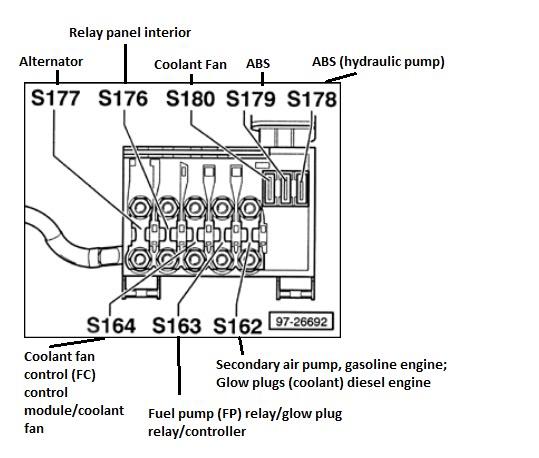 Brilliant Fuse Box Diagram For A 2003 Vw Jetta 1 8T Basic Electronics Wiring Wiring Cloud Histehirlexornumapkesianilluminateatxorg
