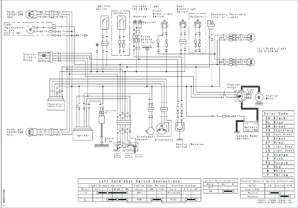 2007 Kawasaki Mule 3010 Wiring Schematic