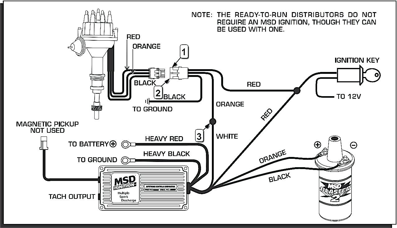 Gb 0290 350 Chevy Msd Ignition Wiring Diagram Wiring Diagram