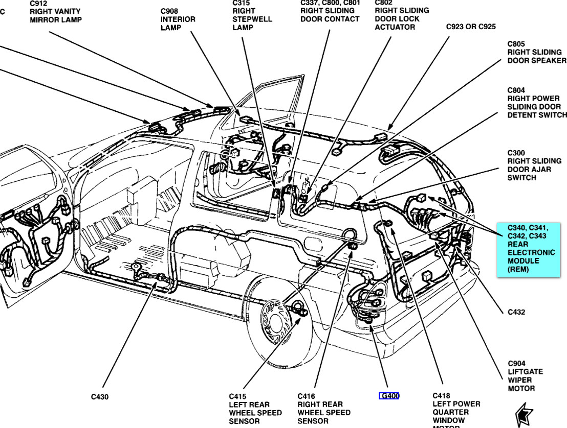 wr 0346 2000 ford windstar wiring diagram additionally 2001 ford windstar sel schematic wiring staix bocep mohammedshrine librar wiring 101