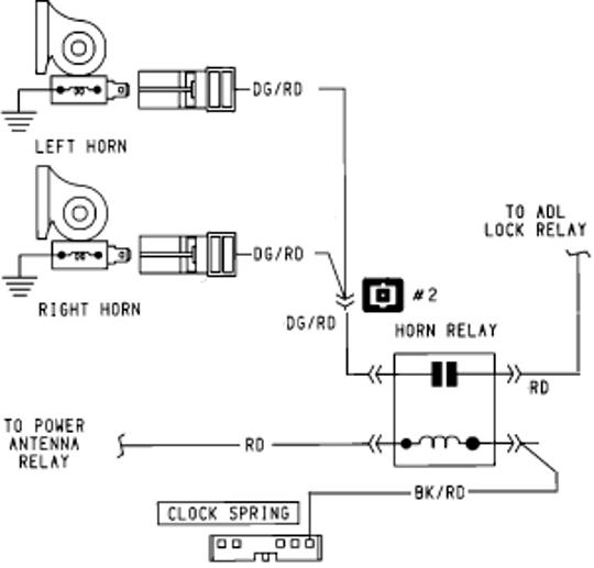 old horn wiring fo 7742  automotive relay circuit diagram together with 1994  automotive relay circuit diagram