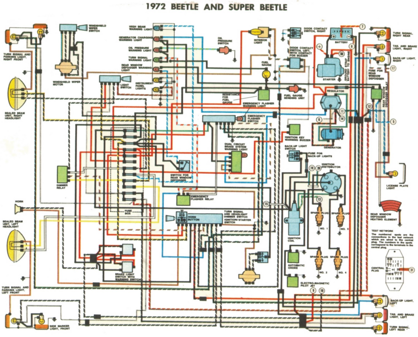 1972 volkswagen super beetle wiring cl 8626  vw voltage regulator wiring diagram additionally 72 vw  vw voltage regulator wiring diagram