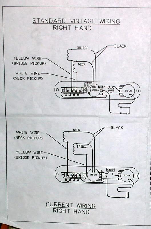 fender 52 hot rod telecaster wiring diagram  wiring diagram