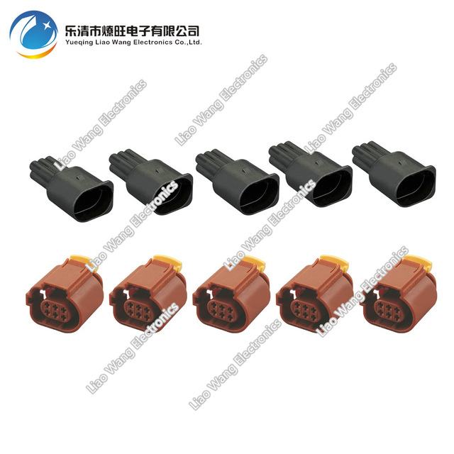 Remarkable 5 Sets Waterproof Connector Automotive Wire Harness Connector Wiring Cloud Lukepaidewilluminateatxorg