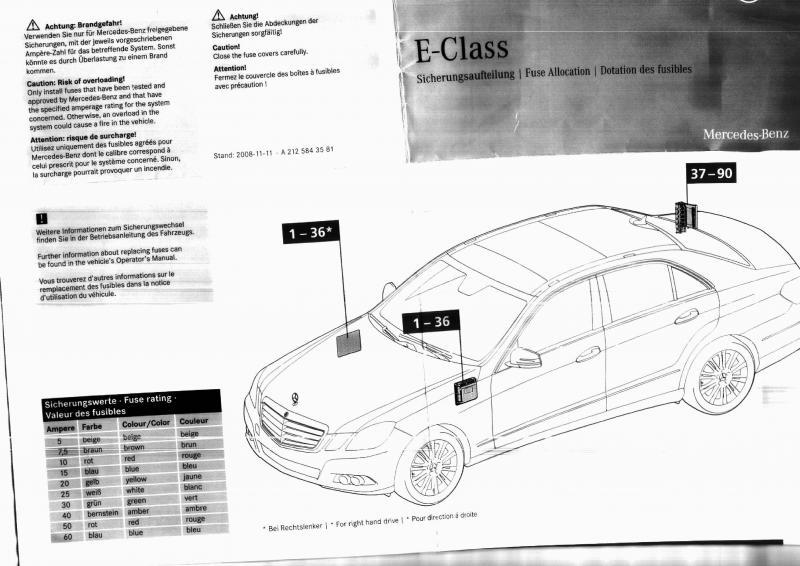 Stupendous Mercedes E350 Fuse Box Location Wiring Diagram Database Wiring Cloud Rdonaheevemohammedshrineorg