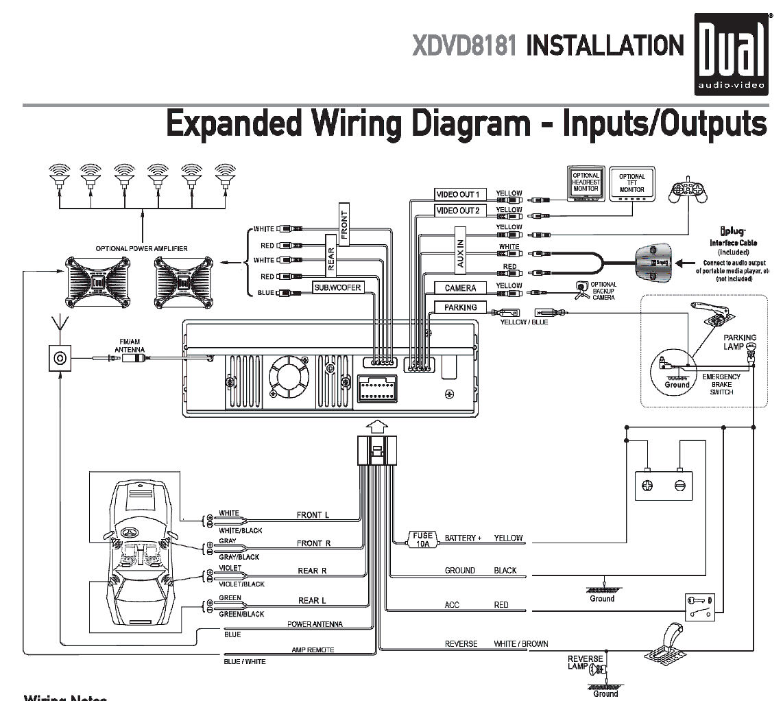 Sub Amp Wiring Diagram Car - Wiring Diagram