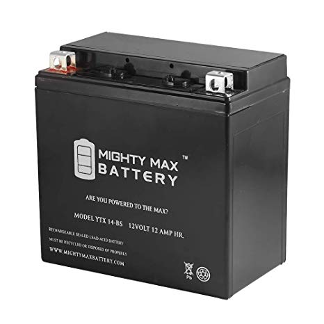Remarkable Amazon Com Mighty Max Battery Ytx14 Bs Replacement For Atv Honda Wiring Cloud Hisonepsysticxongrecoveryedborg
