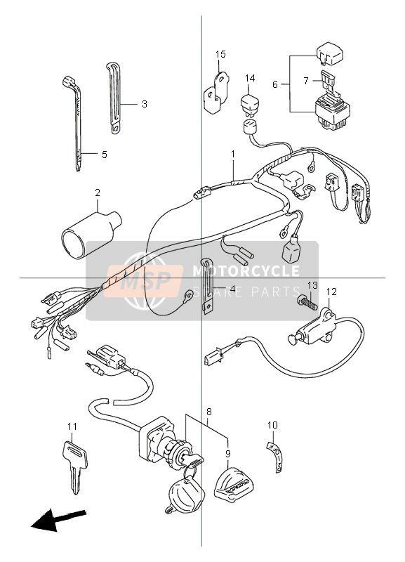 2000 Suzuki Lt80 Wiring Diagram