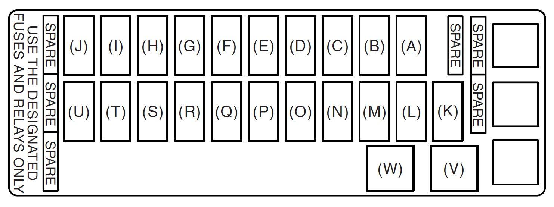 GN_4470] Suzuki Xl7 Fuse Box Diagram Schematic WiringMonoc Iosco Bemua Mohammedshrine Librar Wiring 101