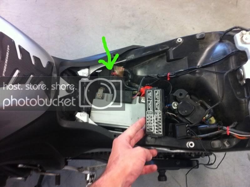 Fuse Box Honda Cbr 600 F4i