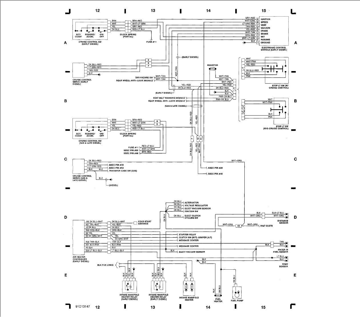 WC_8671] 1991 Dodge Pickup Wiring Diagram Sbec Schematic WiringAmenti Timew Barba Clesi Inifo Dome Mohammedshrine Librar Wiring 101