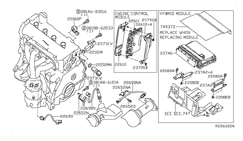 Stupendous 22693 1Aa0A Genuine Nissan Parts Wiring Cloud Licukshollocom