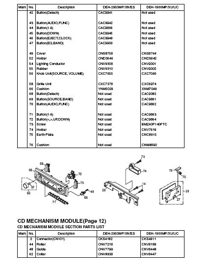 sk4305 diagram also pioneer deh wiring diagram wiring