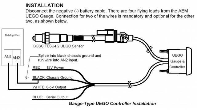 Ks 1046  Aem Wideband Wiring Diagram Wiring Diagram