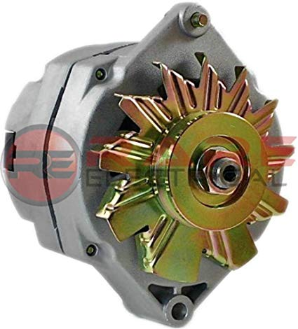 Magnificent Amazon Com New Alternator Fits 10Si Delco 1 Wire Self Energizing Wiring Cloud Hisonepsysticxongrecoveryedborg