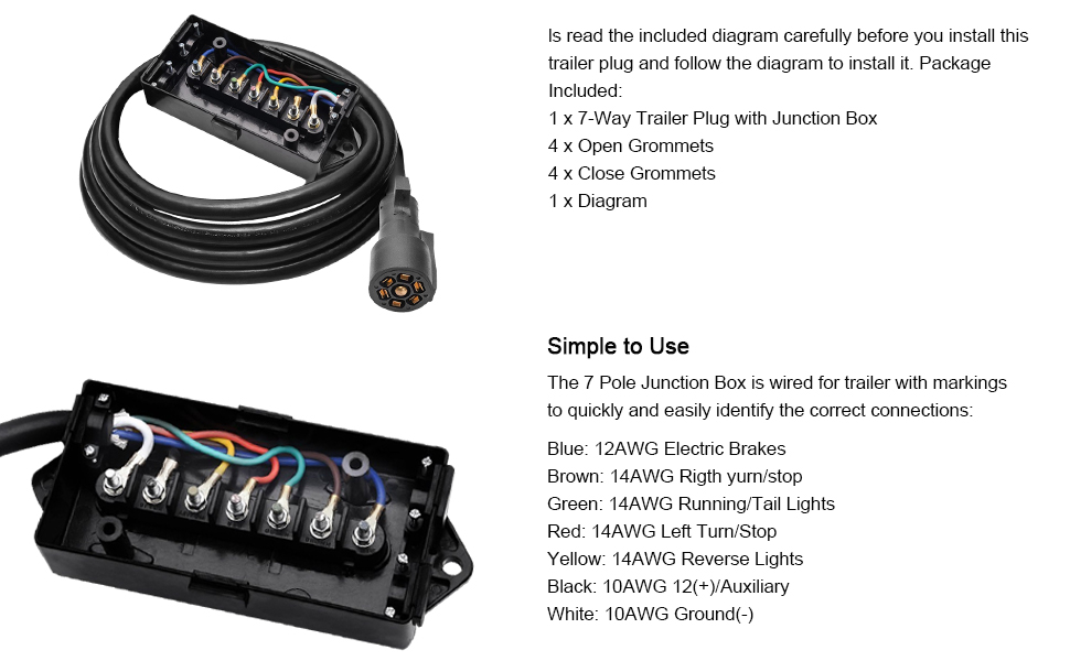 Bd 5233  Electrical Wiring Junction Box On With Diagram 7 Way Trailer Wiring Free Diagram
