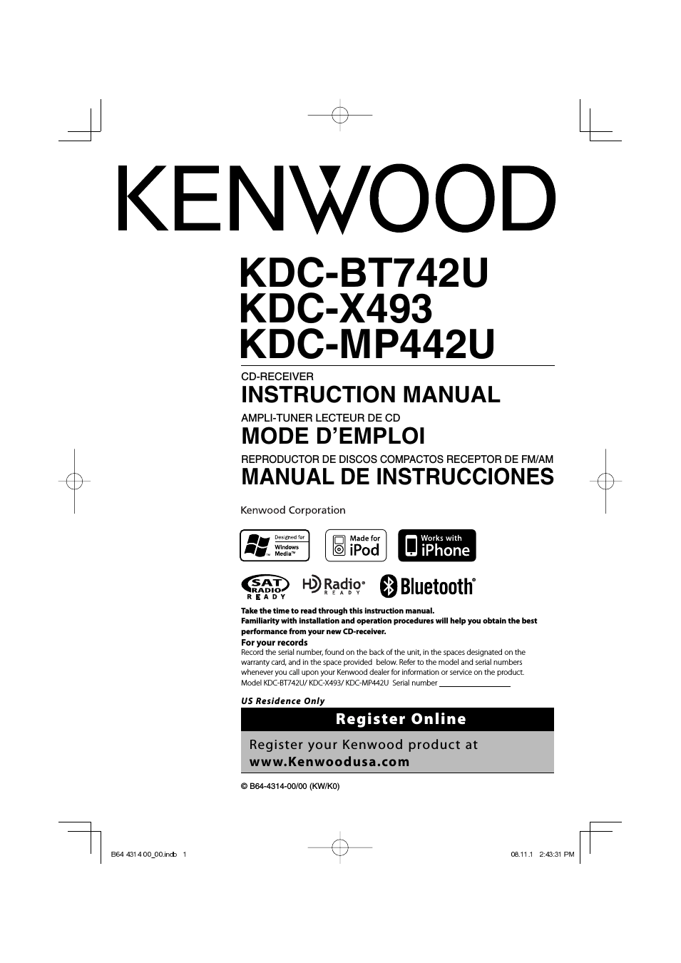 [SCHEMATICS_4ER]  YZ_4971] Out Diagram For A Kenwood Cd Receiver Kdc128 Audio Car Cd Changer Wiring  Diagram | Kenwood Kdc Bt742u Wiring Diagram |  | Gue45 Umng Mohammedshrine Librar Wiring 101
