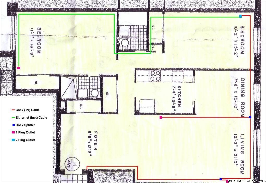 Ee 0197 Wiring Diagram 1 Bedroom Apartment Wiring Diagram