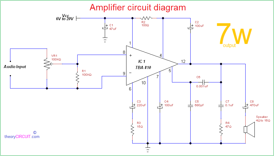 Fine Wiring Diagram For Amplifier Online Wiring Diagram Wiring Cloud Domeilariaidewilluminateatxorg