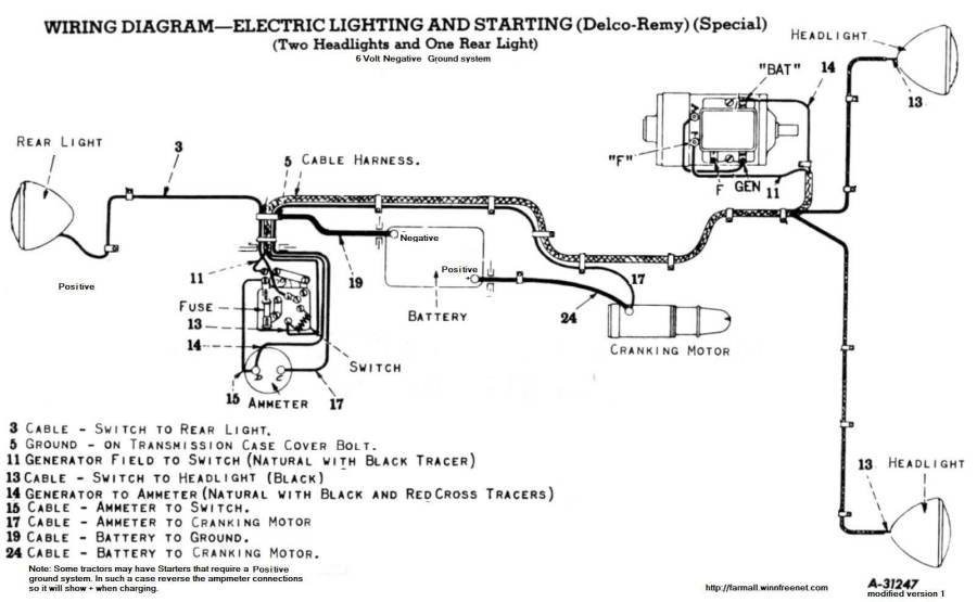 Farmall Cub Wiring Diagram 6 Volt