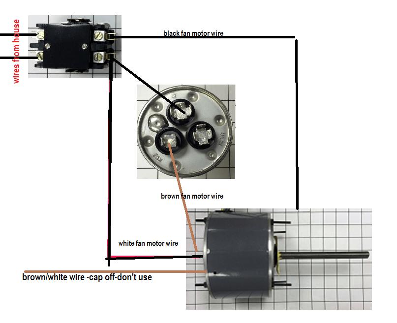 vm5996 fan motor capacitor wiring diagram also ac