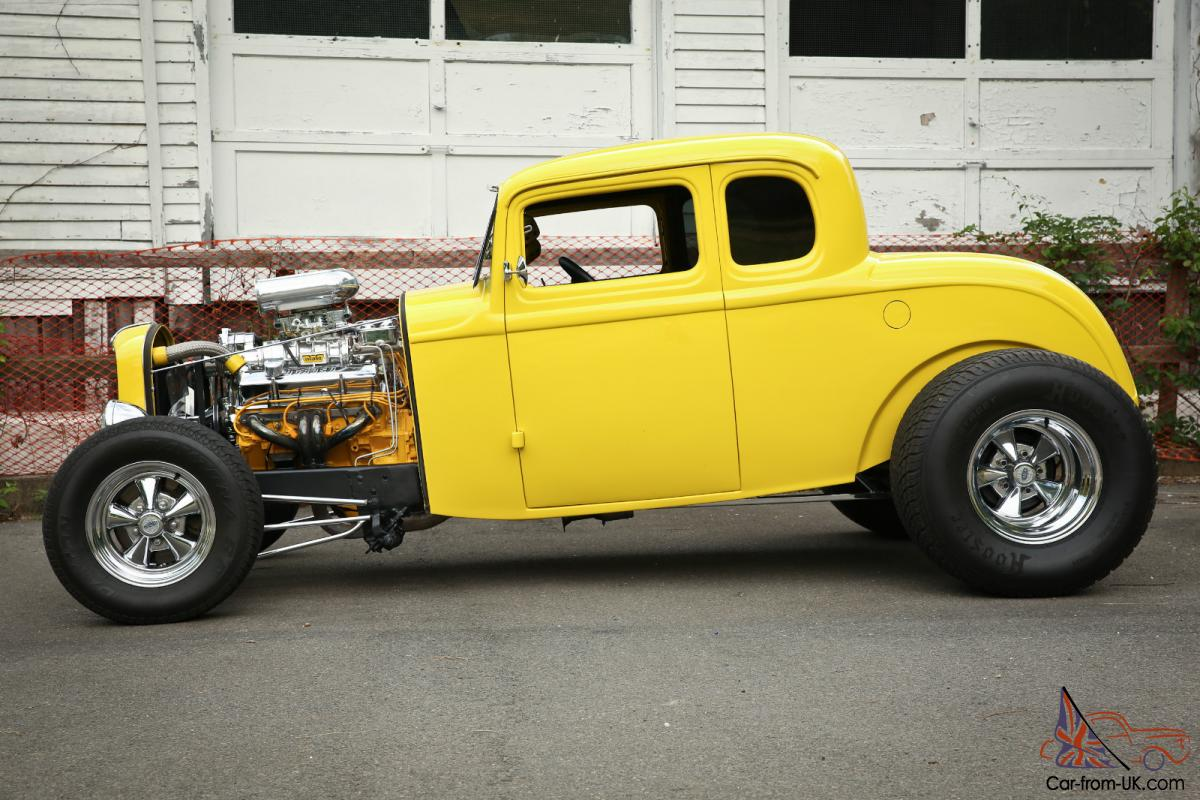1932 Ford 5 Window Coupe Rat Rod