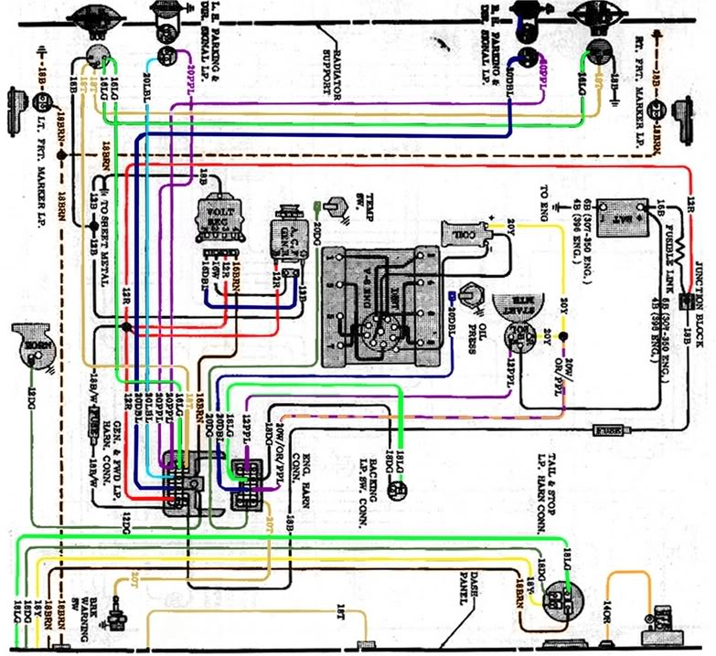 1972 chevy wiring diagram lg 3870  diagram chevy alternator wiring diagram 72 chevy truck 1972 chevy c10 wiring diagram diagram chevy alternator wiring diagram