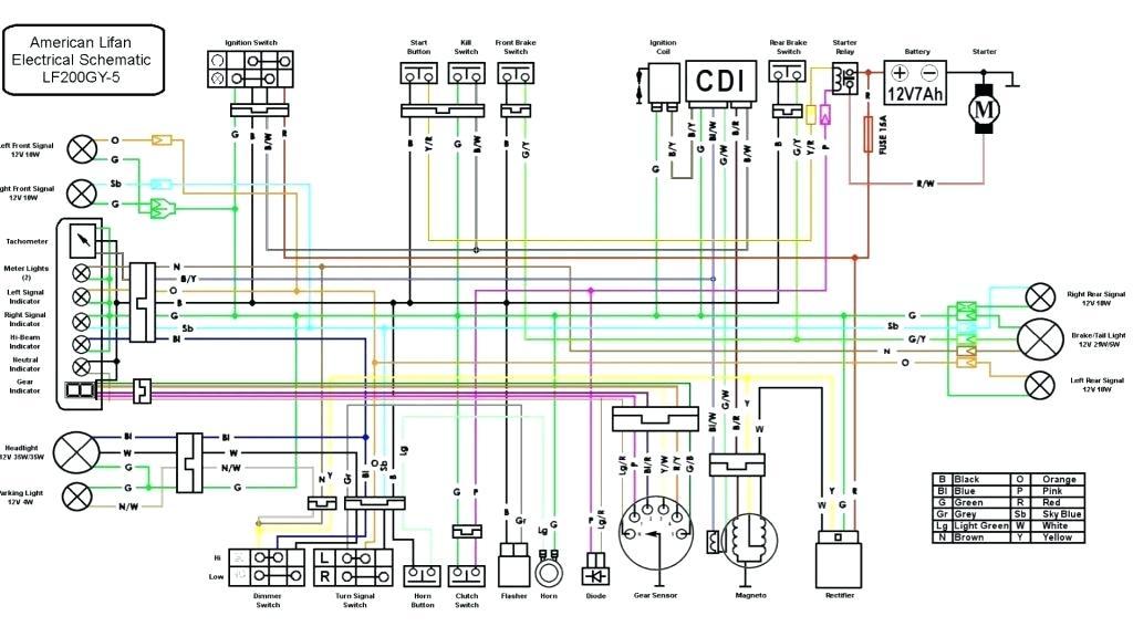 2007 Taotao 110cc Atv Wiring Diagram - Wiring Diagram