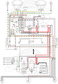 Enjoyable Vintage Vw Wiring Diagrams Wiring Cloud Mousmenurrecoveryedborg