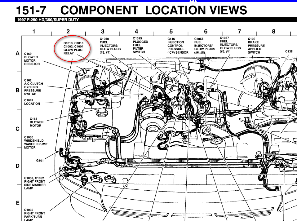97 Ford F 350 7 3 Diesel Engine Diagram Wiring Diagram High Ignition High Ignition Networkantidiscriminazione It