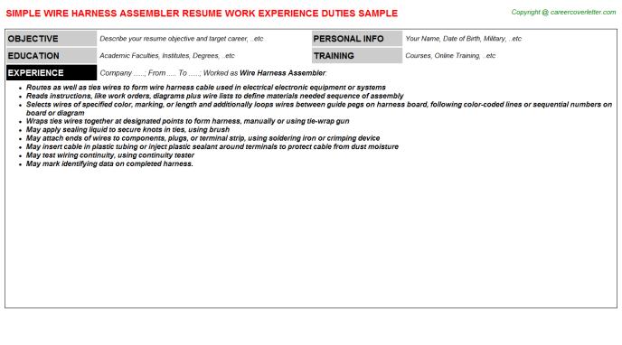 OG_5466] Wiring Harness Resume Download DiagramHison Opein Mohammedshrine Librar Wiring 101