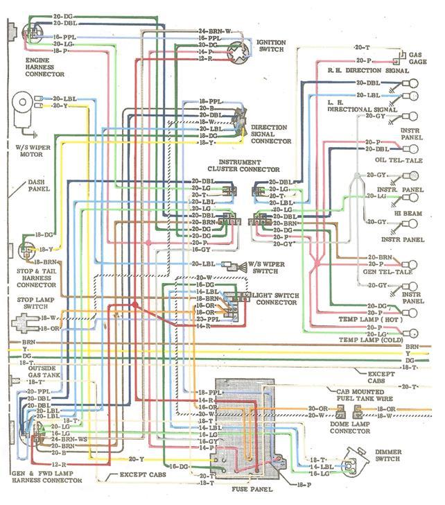1972 chevy wiring diagram ez wiring 21 standard wiring harness diagram faint 19 1972 chevy c10 wiring diagram wiring harness diagram