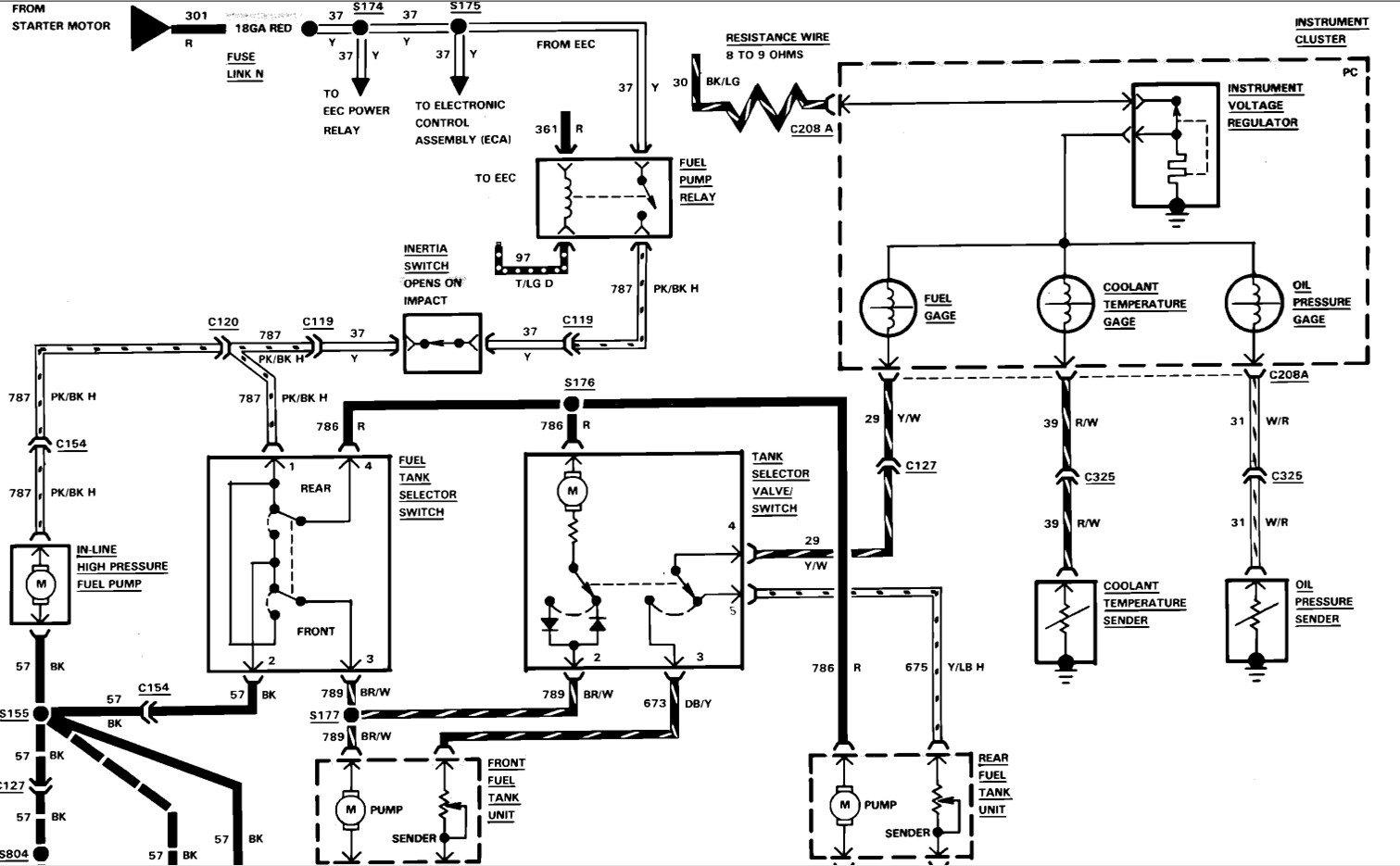 Fabulous 87 Ford F 150 Fuel Pump Wiring Diagram Wiring Diagram Wiring Cloud Ittabisraaidewilluminateatxorg