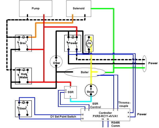 fo6611 honeywell thermostat rth221b wiring diagram