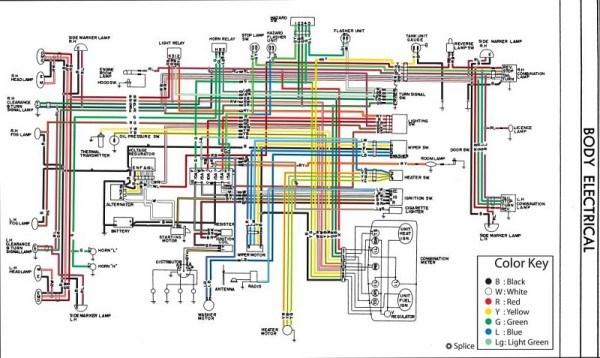 Sensational 1978 Datsun Wiring Diagram Basic Electronics Wiring Diagram Wiring Cloud Overrenstrafr09Org
