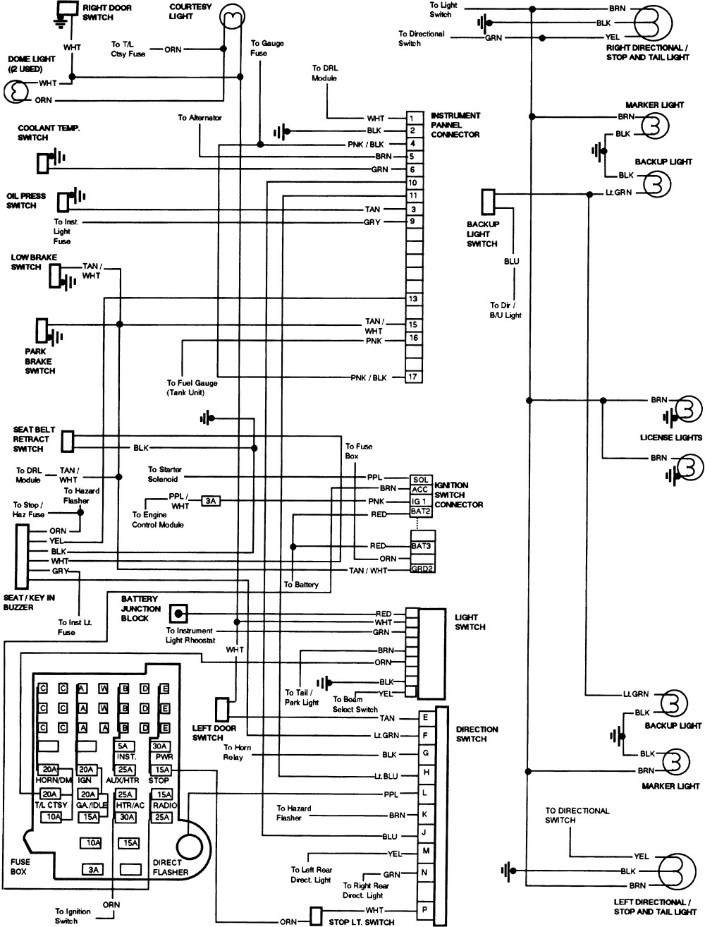 1985 Chevy Truck Wiring Diagram Free