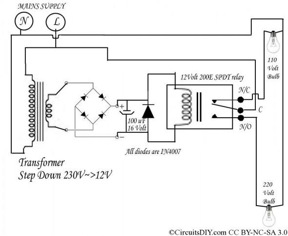 El 3614 220 Volt Relay Switch Wiring Diagram Free Diagram