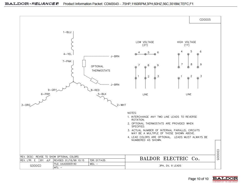 AA_8789 9 Lead Motor Wiring Diagram Dual Voltage Schematic Wiring [ 777 x 1025 Pixel ]